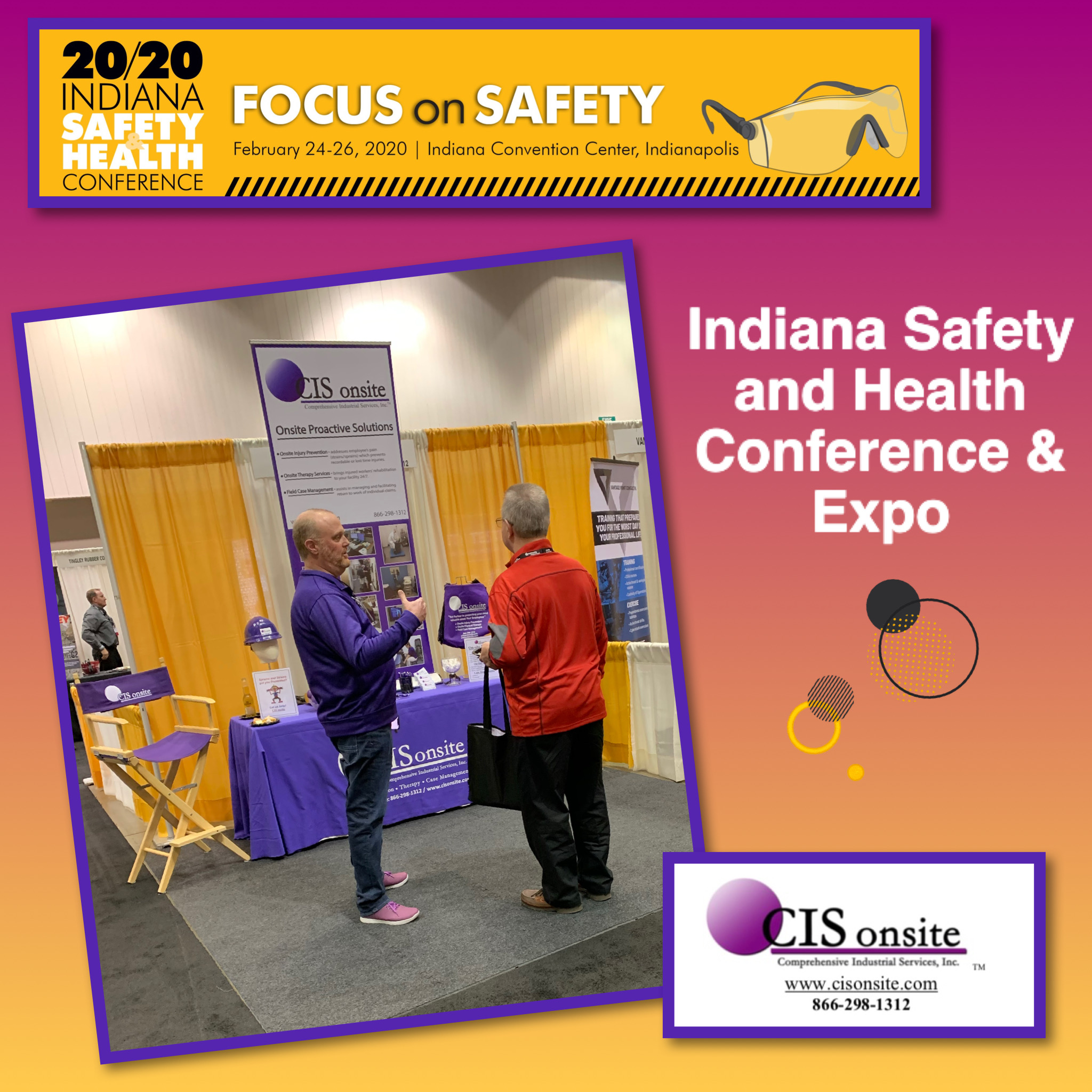 Indiana Safety and Health Conference & Expo, Indianapolis IN. 2020