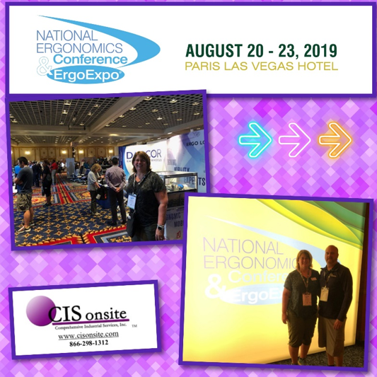 National Ergonomics Conference and ErgoExpo in Las Vegas Nevada 2019