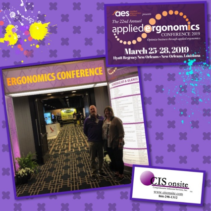 The 22nd Annual Applied Ergonomics Conference's Expo, New Orleans, LA 2019